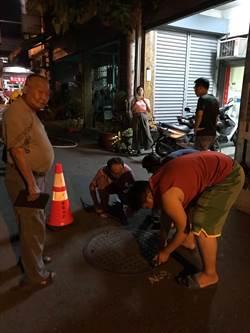 屏東市區傳異味 警消漏夜戒備查源頭