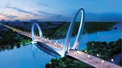 新首鋼大橋通車 百里長街成形