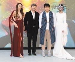 新港奉天宮媽祖符令 名模巴黎藝術展走秀