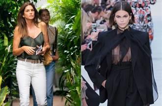 最美星二代嗆登巴黎時裝周 一走伸展台悲劇「整個露點」