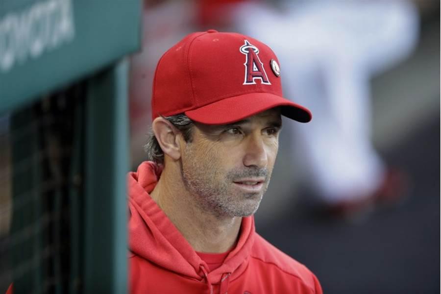 天使總教練阿斯瑪斯遭解雇。(美聯社資料照)