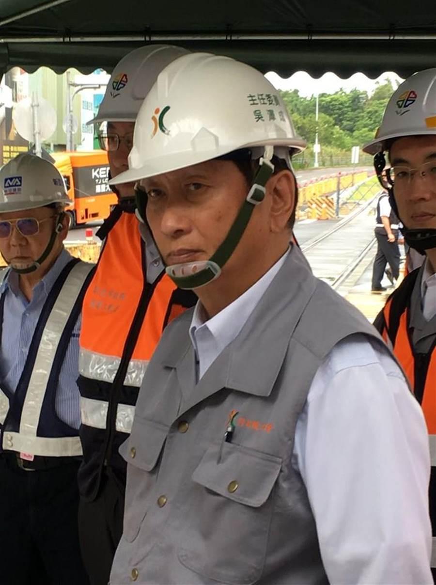 南方澳大橋倒塌  工程會將查維護管理問題(工程會主委吳澤成臉書擷圖)