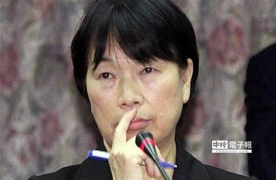 龍應台呼籲當局不該以武力鎮壓,否則不是香港人背叛「祖國」,而是香港被「祖國」背叛。(資料照片 姚志平攝)