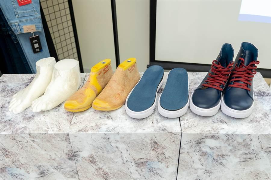LA NEW全方位科技量測系統「量腳打造」客製化選鞋方案,健康從腳做起。(圖/品牌提供)