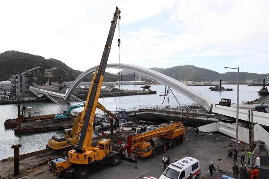 交通部長林佳龍今(1)日表示,交通部將主導加強全國橋樑檢測。(圖/交通部提供)