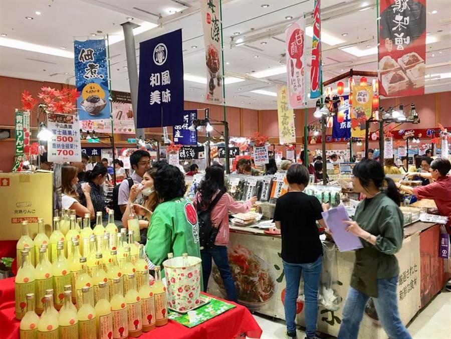 (SOGO忠孝館即日起至13日推出京都美食展。圖/李麗滿)