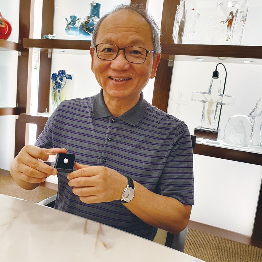 法藍瓷總裁陳立恆看好3D列印瓷牙,希望開闢第二條成長曲線。圖/邱莉玲