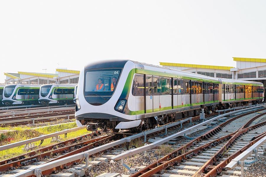 台中捷運綠線明年底全線通車,市府昨日再次提報捷運綠線延伸線,爭取中央一次核定。(盧金足攝)