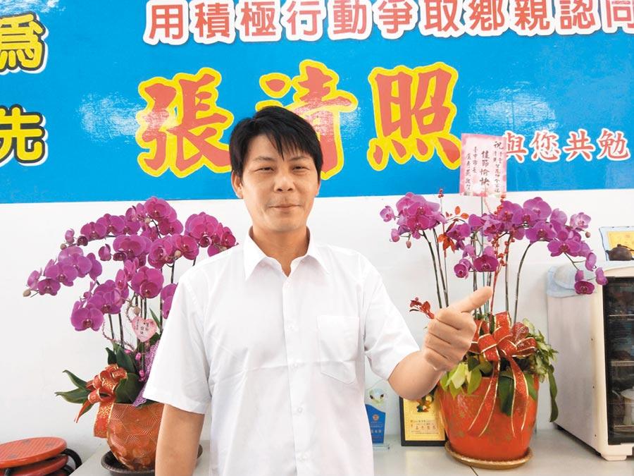 國民黨將徵召菜農林佳新投入戰局。(陳淑娥攝)