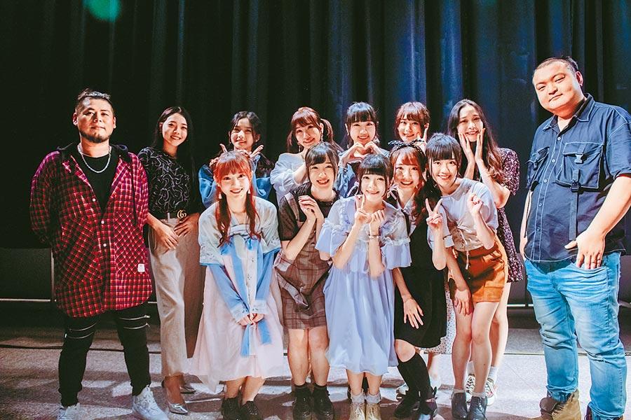 AKB48 Team TP日前舉辦大型握手會。(好言娛樂提供)