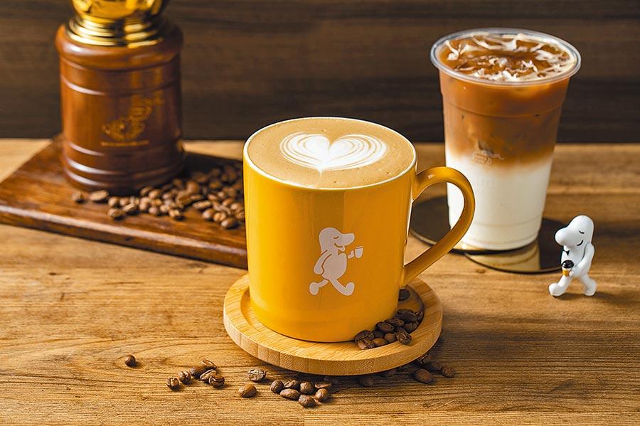 cama咖啡今日拿鐵、黑咖啡大杯第2杯7折。(cama提供)