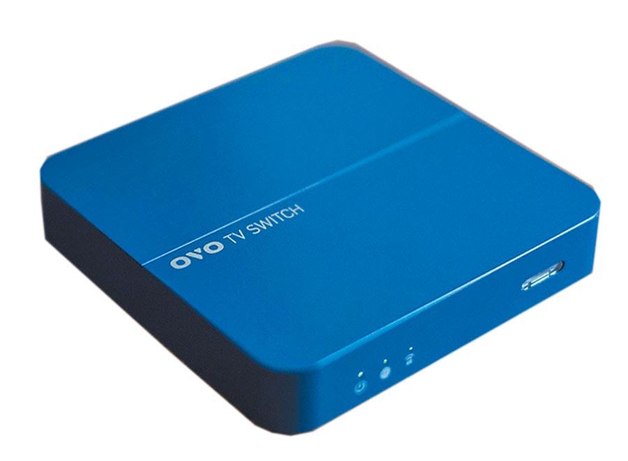 OVO推出全球首款個人化AI電視盒,年費999元起。(OVO提供)