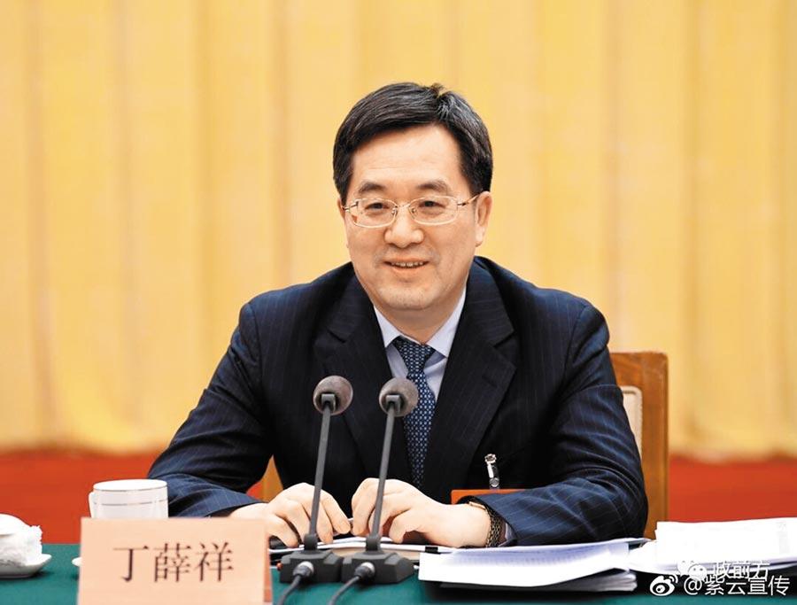 國安委辦公室主任丁薛祥。(取自新浪微博@紫雲宣傳)
