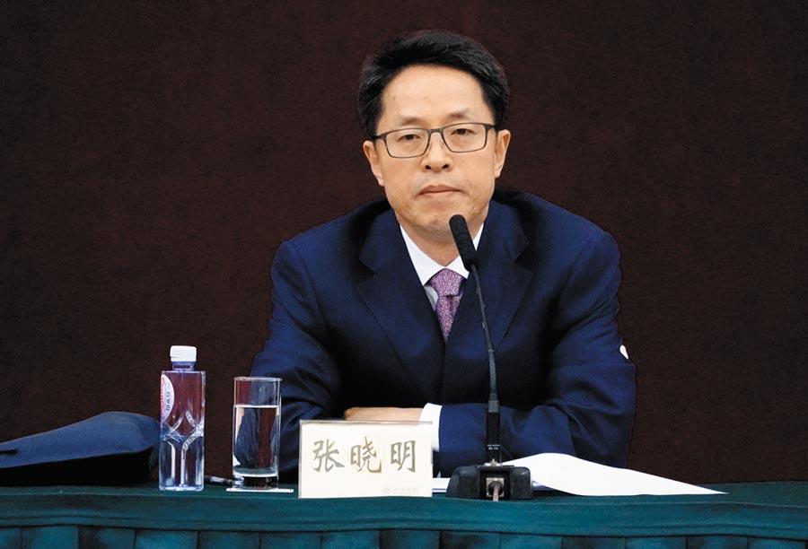 中共港澳辦主任張曉明缺席北京舉行的「十一」招待會,引起關注。(中新社資料照片)