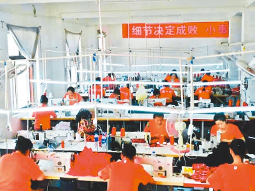 武漢「媽媽工廠」日常工作情況。(取自新華網)