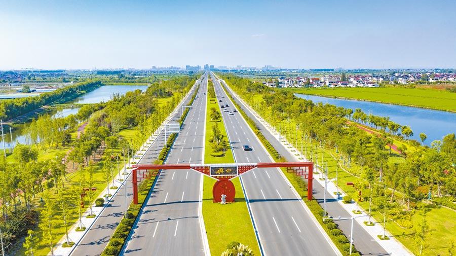 泰州興化英武大道。