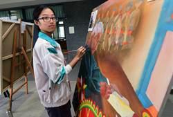「我的MUMU很厲害」台東女中生為曾祖父畫像