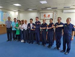 金門縣議會訪台南市警察局 議長局長相見歡