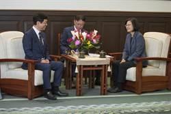接見日本眾議員 蔡英文盼宣導台灣旅遊