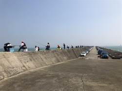 台中港北堤全段開放垂釣 2日起試營運