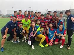 高雄陽信銀行女足成績大躍進 木蘭聯賽排第四