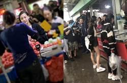 網友偶遇Angelababy上市場 無PS真實比例曝光
