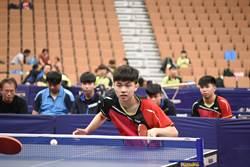 男桌世界盃》林昀儒不敵球王 與馬龍爭季軍