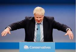 英首相強森稱 英國本月31日鐵定離開歐盟