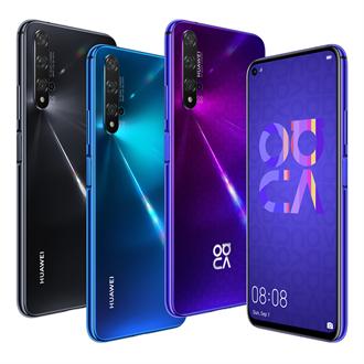 華為nova 5T/P30 Pro新色登場 預購/上市禮豐富