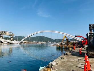 南方澳斷橋估今闢航道 3年內重建新橋