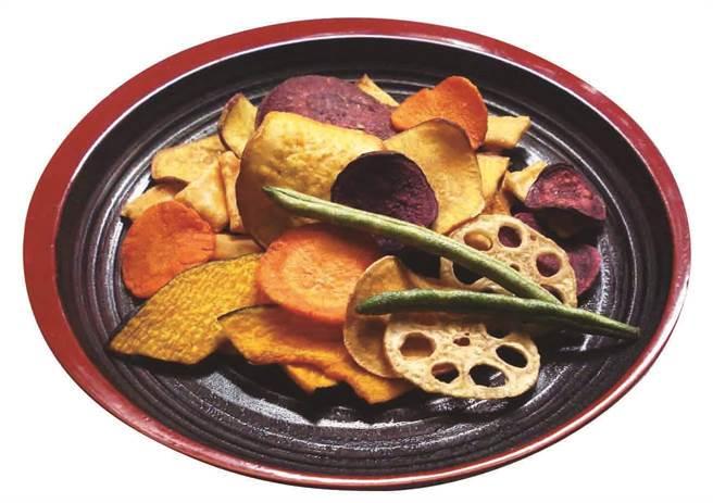 「かなだや」野菜脆片,每包150 元,限量200包。(SOGO提供)