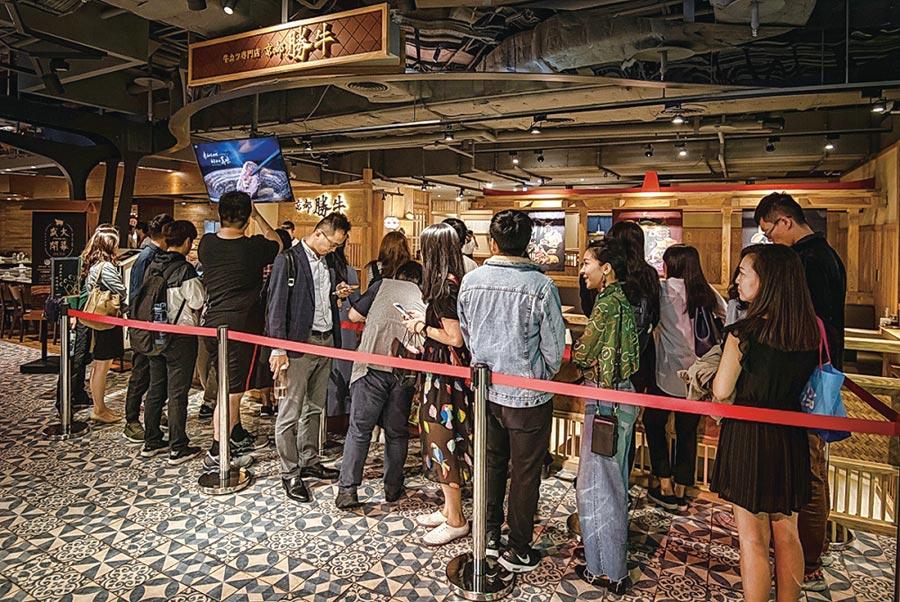 王座國際餐飲旗下日式炸牛排品牌「京都勝牛」,第四季將展店3家。圖/王座國際