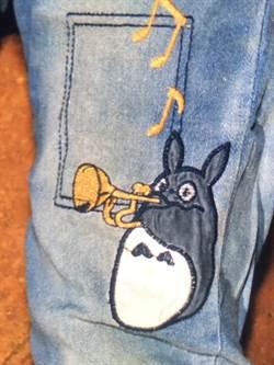 牛仔褲有卡通龍貓圖樣 白沙屯女屍待指認