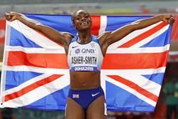 女力萬歲 助英奪世界大賽短跑首金