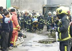 悲痛!台中大雅工廠大火 確認2消防員殉職