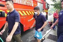 台中大火消防員張哲嘉殉職 麻豆區長前往張家慰問