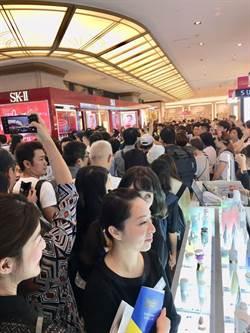 新光三越周年慶首波開跑 全台6店人潮逾20萬