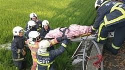2殉職警燒成焦屍 同袍忍痛接力運送遺體