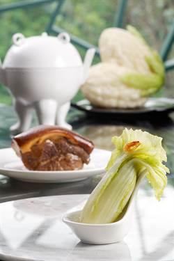 可以吃的肉形石與翠玉白菜!故宮「國寶宴」日本飄香
