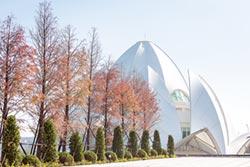 福龍紀念園 建築美學融和自然