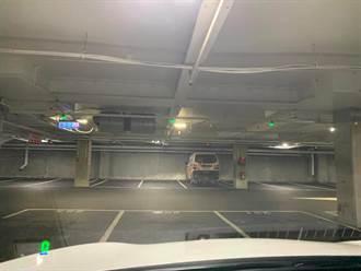 中和好市多停車場開始收費 一張照片驚呆網友
