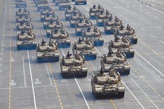 陸柔性對台 閱兵淡化海軍陸戰隊