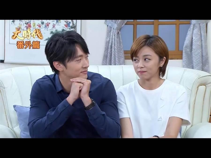 馬俊麟和王瞳在戲裡演CP,戲外也風波不斷。取自民視影片