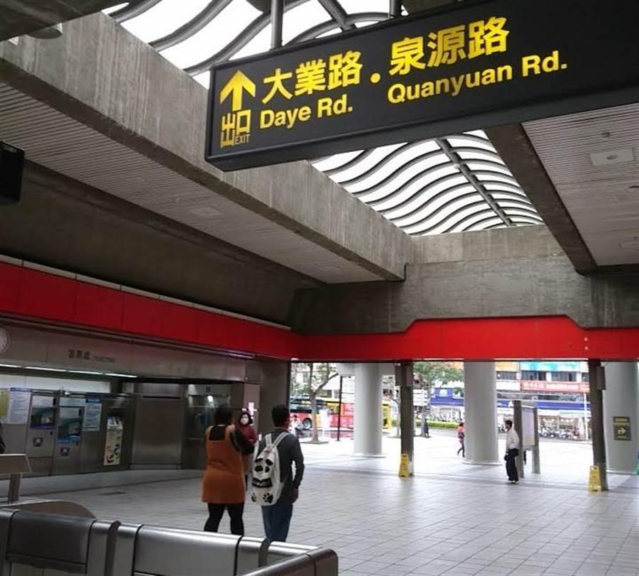 (台北捷運便利市民移動,在智慧城市排名加分。圖/陳碧芬)