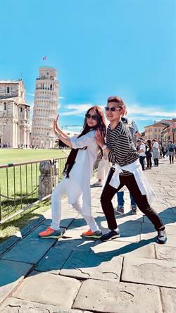 包偉銘夫婦赴義大利慶結婚4週年 遇扒手劉依純變神力女超人