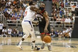 NBA》熱身賽也狂飆 哈登37分擊沉快艇
