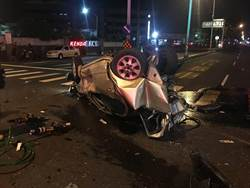 國道三寶下匝道未減速 追撞三車害一死