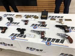 黑槍零容忍  警署全國同步緝獲93把槍