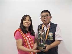 全國模範清潔隊員陳建仁親表揚 李艾凌獲特殊貢獻獎