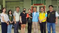 柳營職災勞工經濟困難 勞工局與5總工會贈慰問金